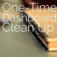 dashboard-cleanup